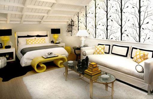 Постельное белье в декоре спальни