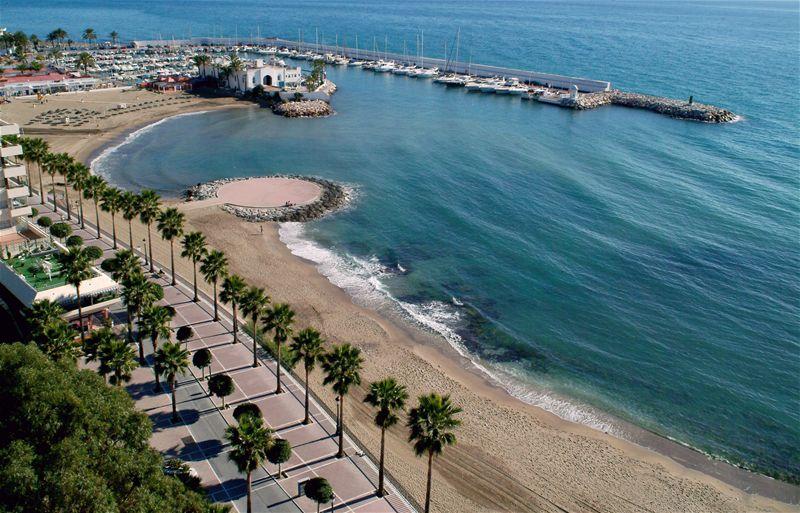 Деревушка на Солнечном побережье Испании