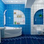 Совмещение санузла и ванной комнаты