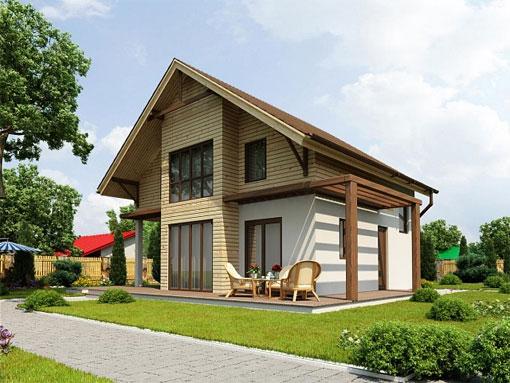 Экономное строительство деревянного дома