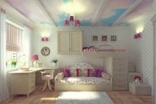 Домашний интерьер. Детская комната