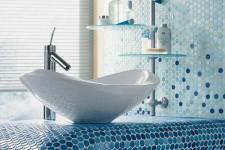 Интерьерный тренд: мозаика в ванной