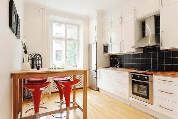 Кухни дизайн в квартиру 9 кв
