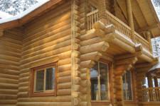 Дом из дерева: интерьерные особенности