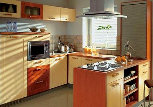 Виды планировок современных кухонь