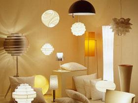 Освещение в интерьере, подбор ламп для комнат