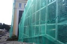 Фасадная сетка для различных работ
