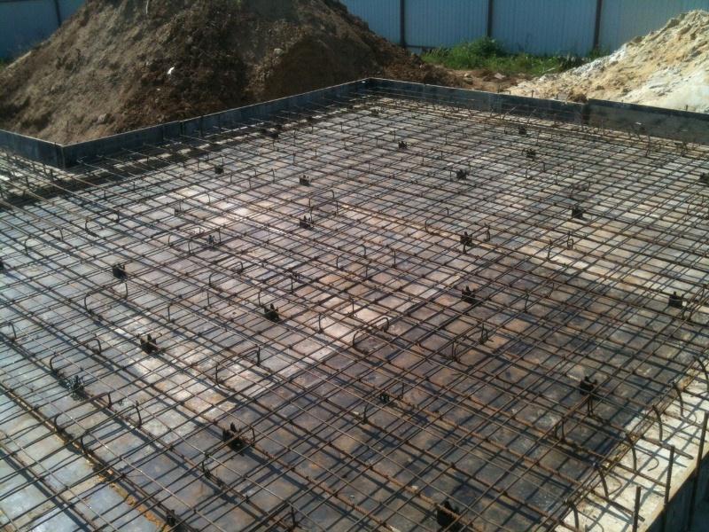 Как залить плиточный фундамент