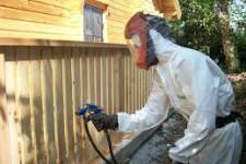 Огнезащита деревянных конструкций.