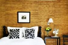 Как приклеить бамбуковые обои на стены