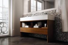 Как придать ванной комнате необычный вид?