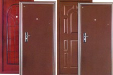 Особенности современных входных металлических дверей