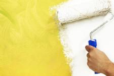 Как работать с валиком при окраске