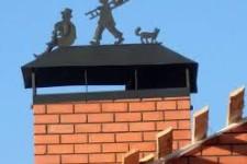 Колпаки на трубы дымохода – украшение или защита?