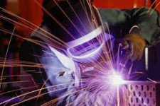 Резка металла электросваркой