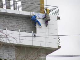 Навесные вентилируемые фасады и применение металлоконструкций