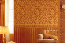 Как закреплять на стенах текстильные обои