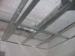 Установка монтаж подвесных потолков