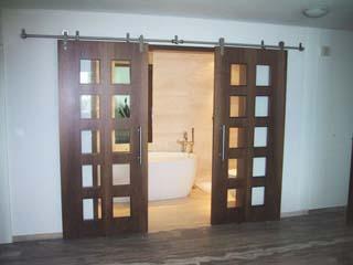 Подвесная раздвижная дверь