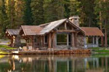 Деревянные дома для отдыха