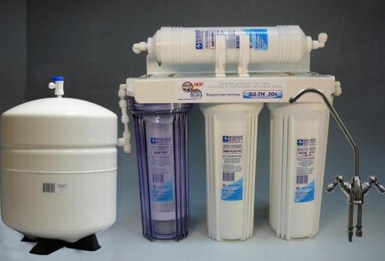 Какими бывают фильтры для воды