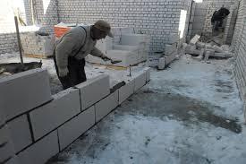 Создание перегородки из блоков