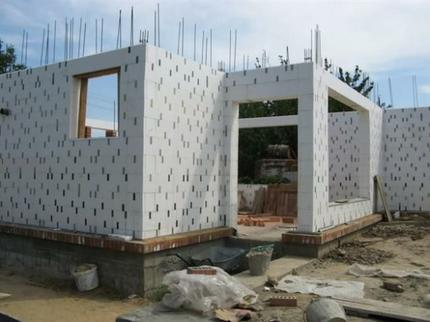 Строительство домов из несъемной опалубки