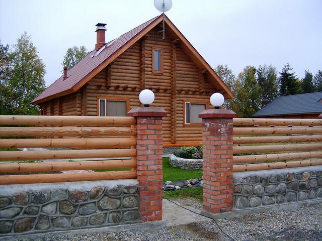 Забор как оригинальный способ благоустройства участка