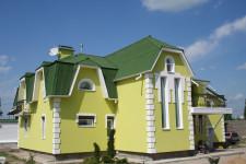 Как провести покраску фасада краской
