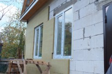 Теплоизоляция дома пенобетонными блоками