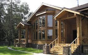 Специфика домов и коттеджей из клееного бруса