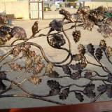 Садовая стилистика с применением художественной ковки