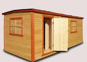 Необходим недорогой дачный домик? Вас выручит бытовка брусовая!