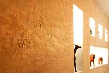 Венецианская декоративная штукатурка. Оформление арки