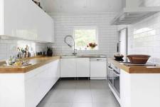 Белая плитка в дизайне интерьера