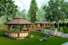 Ландшафтный дизайн участка. Особенности