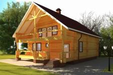 Насколько быстро можно построить дом из сруба?