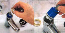 Ремонт однорычажных смесителей для ванной