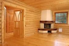 Отделка деревянными материалами