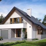 Особенности проектов домов с мансардой