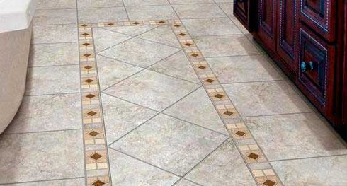 Как положить плитку на пол в кухне