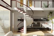 Выбираем лестницу на второй этаж частного дома: виды, описание