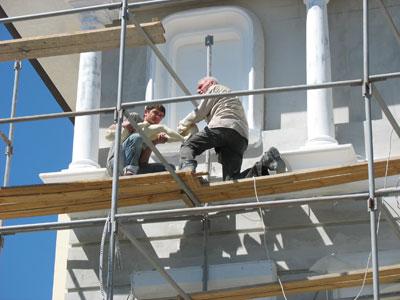 Строительство загородного домика. Ремонт комнат и других помещений.