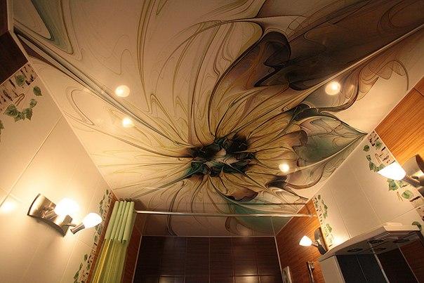 Натяжные потолки: достоинства, арт-печать, UV-печать, натяжные потолки «Звездное небо»