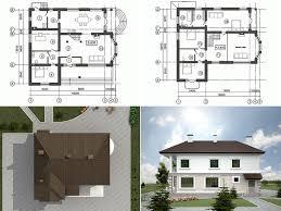 Качественные и не дорогие проекты коттеджей и домов