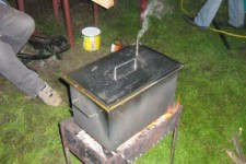 Как сделать коптильню для горячего и холодного копчения своими руками