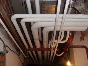 Наружный вывод трубопровода