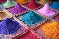 Сухие краски (пигменты)