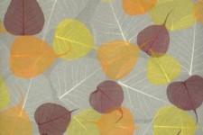 Как клеить натуральные обои-листья