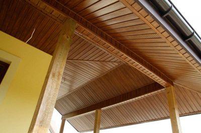 Выбор материала для подшивки карнизов крыши